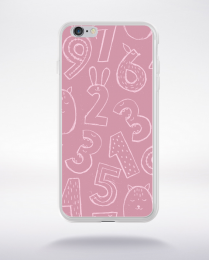 Coque cute stamps pattern 5 compatible iphone 6 transparent