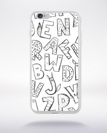 Coque cute stamps pattern 8 compatible iphone 6 transparent