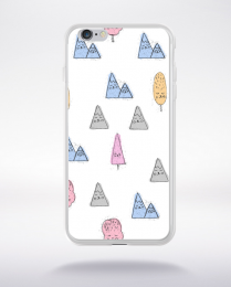 Coque cute stamps pattern 3 compatible iphone 6 transparent