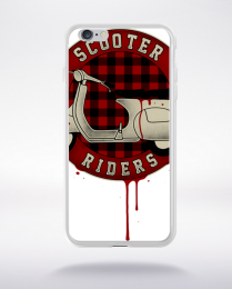 Coque scooter riders compatible iphone 6 transparent