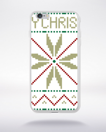 Coque xmas pattern compatible iphone 6 transparent
