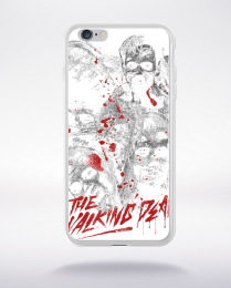 Coque the walking dead compatible iphone 6 transparent
