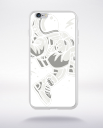 Coque astronaut slamdunk compatible iphone 6 transparent