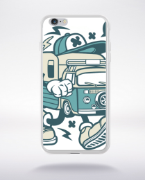 Coque camper van compatible iphone 6 transparent