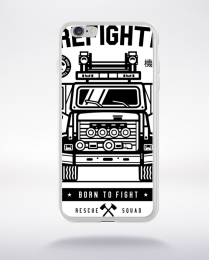 Coque firefighter compatible iphone 6 transparent
