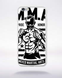 Coque mma fighter compatible iphone 6 transparent