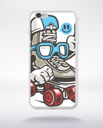 Coque in line skater compatible iphone 6 transparent