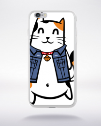 Coque cool cat compatible iphone 6 transparent