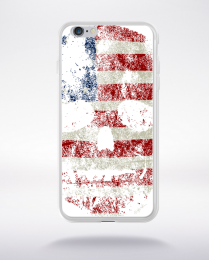 Coque american skull compatible iphone 6 transparent