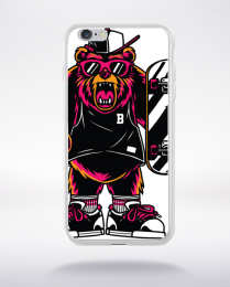 Coque cool bear compatible iphone 6 transparent
