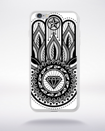 Coque hamsa compatible iphone 6 transparent