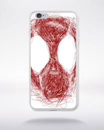 Coque deadpooline compatible iphone 6 transparent
