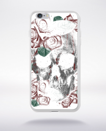 Coque deathskull compatible iphone 6 transparent