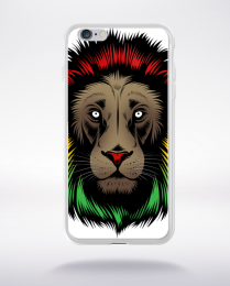 Coque lion reggae compatible iphone 6 transparent