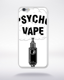 Coque pyscho vape compatible iphone 6 transparent