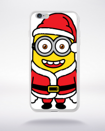 Coque santa minions 2 compatible iphone 6 transparent