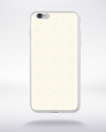 Coque gold polka dot 2 s compatible iphone 6 transparent