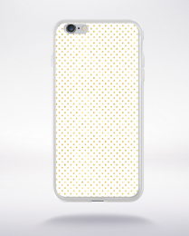Coque gold polka dot 1 s compatible iphone 6 transparent