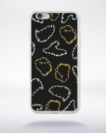 Coque holly jolly pattern 20 compatible iphone 6 transparent