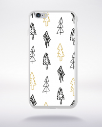 Coque holly jolly pattern 2 compatible iphone 6 transparent