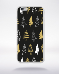 Coque holly jolly pattern 22 compatible iphone 6 transparent