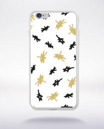 Coque holly jolly pattern 11 compatible iphone 6 transparent