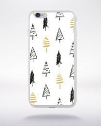 Coque holly jolly pattern 1 compatible iphone 6 transparent
