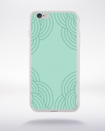 Coque mandala pattern 17 compatible iphone 6 transparent