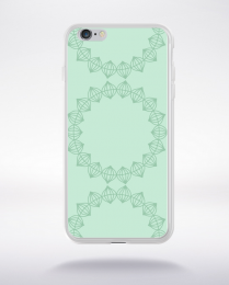 Coque mandala pattern 6 compatible iphone 6 transparent
