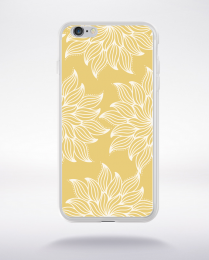 Coque mandala pattern 18 compatible iphone 6 transparent