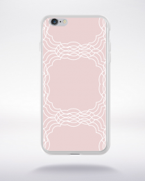 Coque mandala pattern 3 compatible iphone 6 transparent