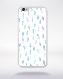 Coque party pattern 10 compatible iphone 6 transparent