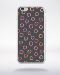 Coque party pattern 11 compatible iphone 6 transparent