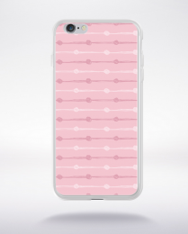 Coque party pattern 8 compatible iphone 6 transparent