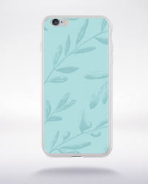 Coque pattern 2 aquamarine compatible iphone 6 transparent