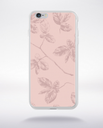Coque pattern 1 rose gold compatible iphone 6 transparent