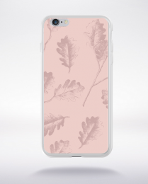 Coque pattern 4 rose gold compatible iphone 6 transparent