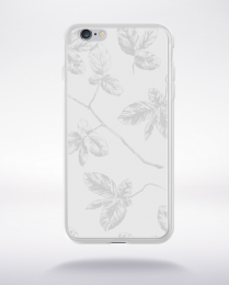 Coque pattern 1 glasier gray compatible iphone 6 transparent