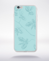 Coque pattern 1 aquamarine compatible iphone 6 transparent