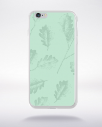 Coque pattern 4 lucite green compatible iphone 6 transparent