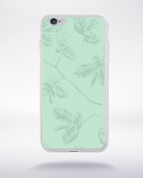 Coque pattern 1 lucite green compatible iphone 6 transparent