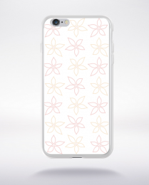 Coque wedding pattern 9 compatible iphone 6 transparent