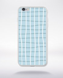 Coque pattern 89 compatible iphone 6 transparent