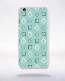 Coque pattern 96 compatible iphone 6 transparent