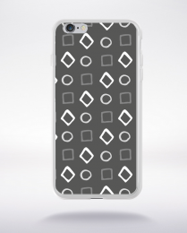 Coque pattern 98 compatible iphone 6 transparent