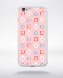 Coque pattern 100 compatible iphone 6 transparent
