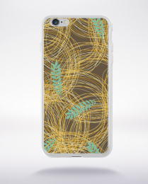 Coque floral pattern 7 compatible iphone 6 transparent