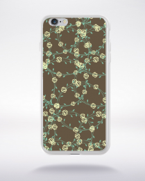 Coque floral pattern 2 compatible iphone 6 transparent