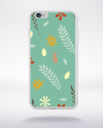 Coque floral pattern 5 compatible iphone 6 transparent
