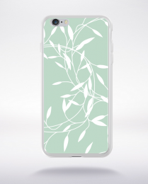 Coque floral pattern 8 compatible iphone 6 transparent